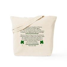 We Are The Irish Tote Bag