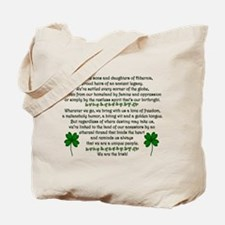 We Are The Irish Tote Bag