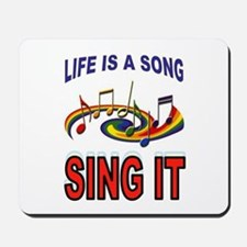 SONG OF LIFE Mousepad
