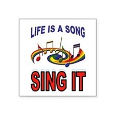 SONG OF LIFE Sticker