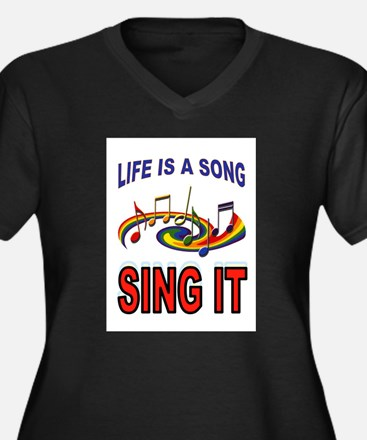SONG OF LIFE Plus Size T-Shirt