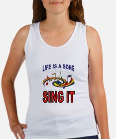 SONG OF LIFE Tank Top