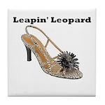 Leapin' Leopard Tile Coaster