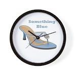 Something Blue Wall Clock