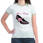 Rose Wrap Jr. Ringer T-Shirt