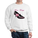 Rose Wrap Sweatshirt