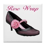 Rose Wrap Tile Coaster