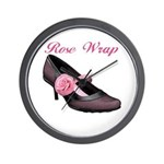 Rose Wrap Wall Clock