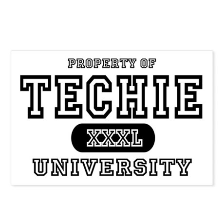 Techie University Postcards (Package of 8)