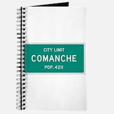 Comanche, Texas City Limits Journal
