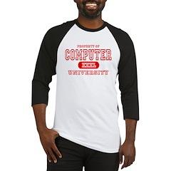 Computer University Baseball Jersey
