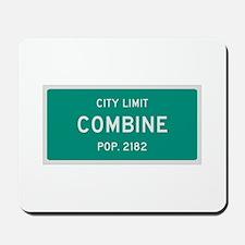 Combine, Texas City Limits Mousepad