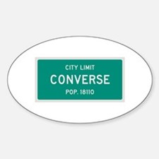 Converse, Texas City Limits Decal