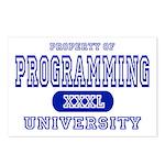 Programming University Postcards (Package of 8)