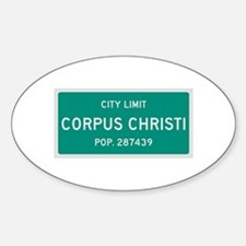 Corpus Christi, Texas City Limits Decal