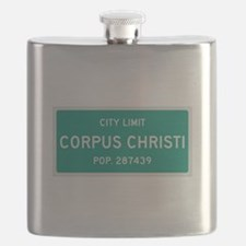 Corpus Christi, Texas City Limits Flask