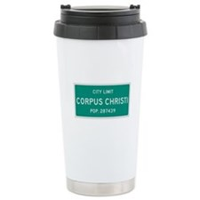 Corpus Christi, Texas City Limits Travel Mug