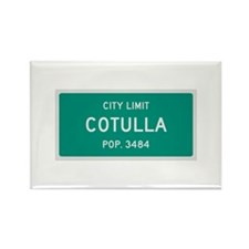 Cotulla, Texas City Limits Rectangle Magnet
