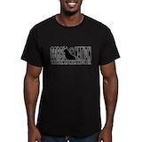 Corgi Fitted T-shirts (Dark)
