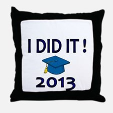 I DID IT! 2013 Throw Pillow