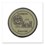 Carbon Canyon Joint Task Force Square Car Magnet 3