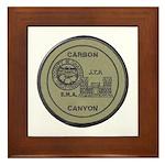 Carbon Canyon Joint Task Force Framed Tile