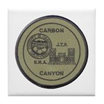 Carbon Canyon Joint Task Force Tile Coaster