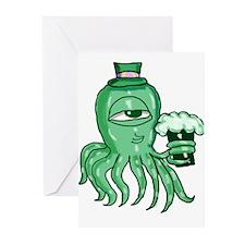 Irish Squid Greeting Cards (Pk of 20)
