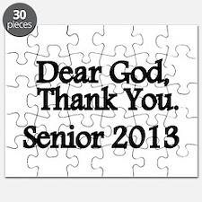 Dear God, Thank you Puzzle