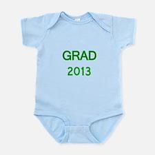 GRAD 2013-green Body Suit