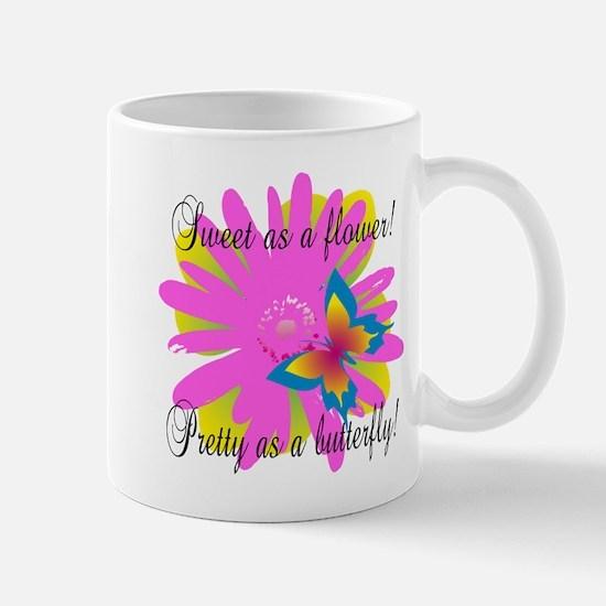 Sweet Pretty Butterfly Mug