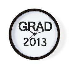 GRAD 2013 Wall Clock