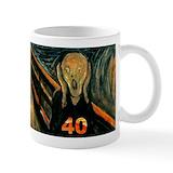 40th Coffee Mugs