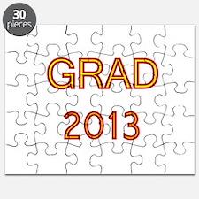 GRAD 2013-marron-gold Puzzle