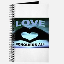 LOVE CONQUERS Journal