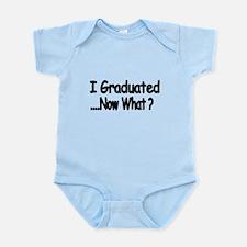 I Graduated Body Suit