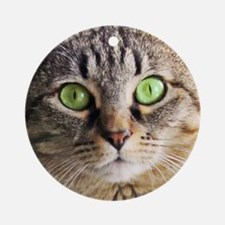 Green Eyed Monster Ornament (Round)1