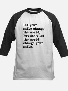 Smile Change The World Baseball Jersey