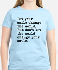 Smile Change The World T-Shirt