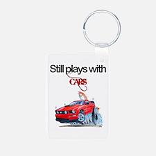 StillPlaysWithCars.jpg Keychains