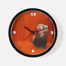 Ferret Wall Clock #1