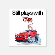 StillPlaysWithCars.jpg Sticker
