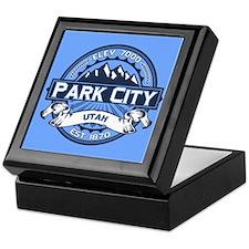 Park City Blue Keepsake Box