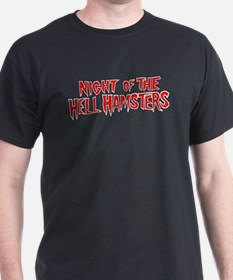 Night of the Hell Hamsters Red Logo T-Shirt