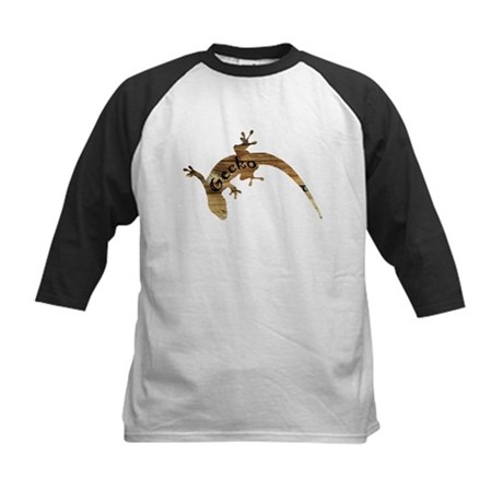 Wooden Gecko Kids Baseball Jersey