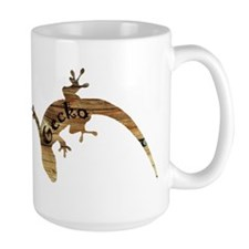 Wooden Gecko Mug