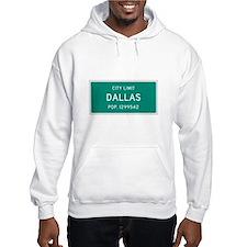 Dallas, Texas City Limits Hoodie
