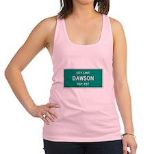 Dawson, Texas City Limits Racerback Tank Top