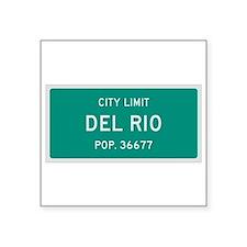 Del Rio, Texas City Limits Sticker
