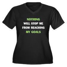 My Goals Plus Size T-Shirt